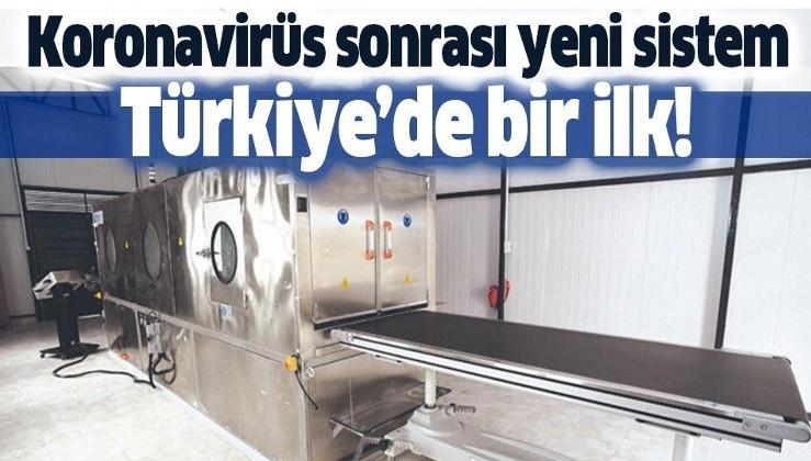 Türkiye'de bir ilk! Konya'da koronavirüs sonrası yeni sistem! El değmeden cenaze yıkama!