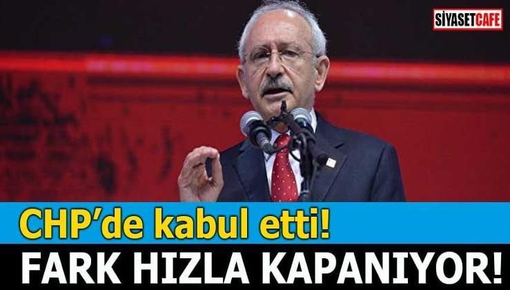 CHP de kabul etti Fark hızla kapanıyor!