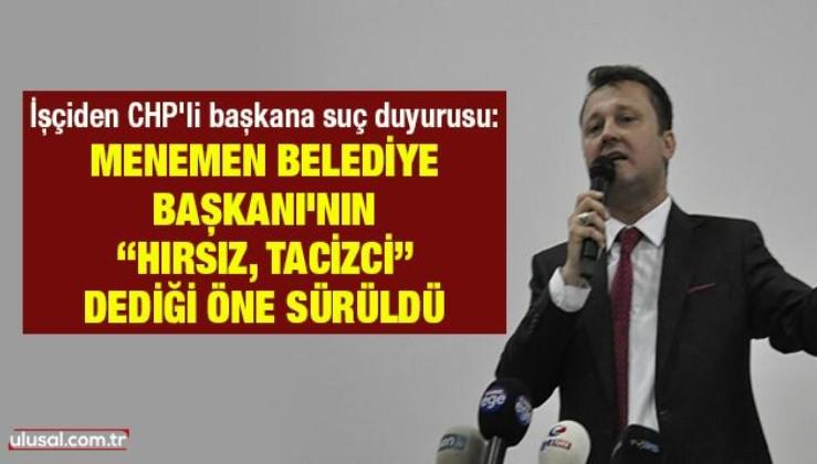 İşçiden CHP'li Belediye Başkanı Serdar Aksoy hakkında suç duyurusu