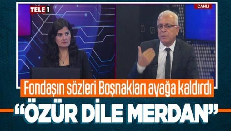 Tele1 Genel Yayın Yönetmeni Merdan Yanardağ'dan Boşnaklar hakkında tepki çeken sözler: