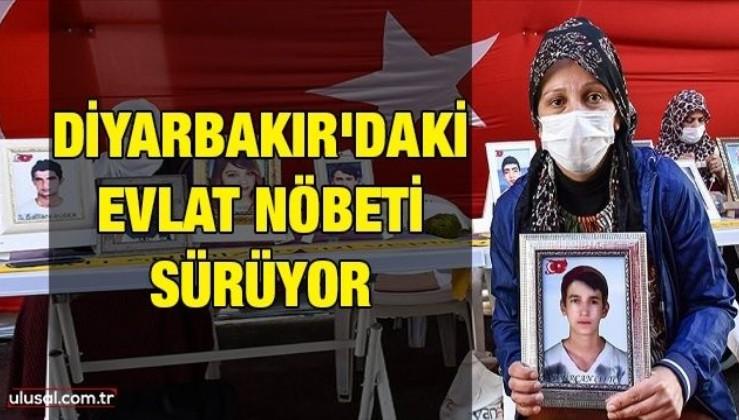 Diyarbakır'daki evlat nöbeti sürüyor