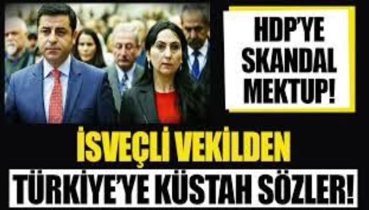 İsveçli vekil Amineh Kakabaveh'den skandal Türkiye sözleri!