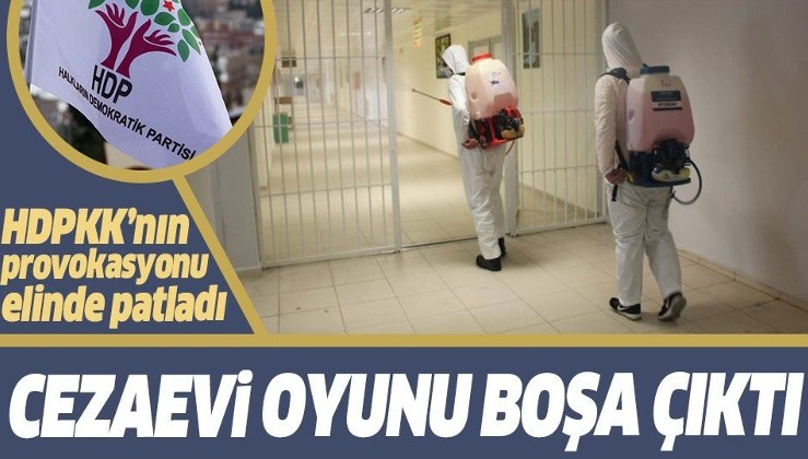 PKK'nın siyasi kanadı HDP'nin cezaevi oyunu boşa çıktı