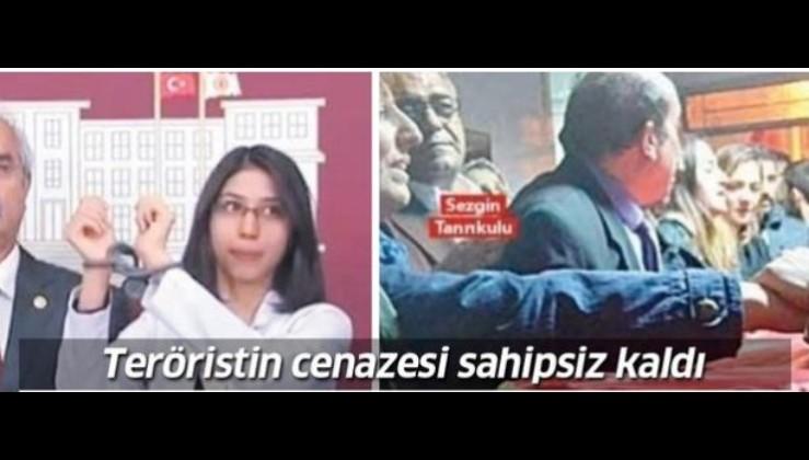 Veli Ağbaba'nın TBMM'ye soktuğu terörist Özge Aydın'ın ailesi cenazesini sahiplenmedi.