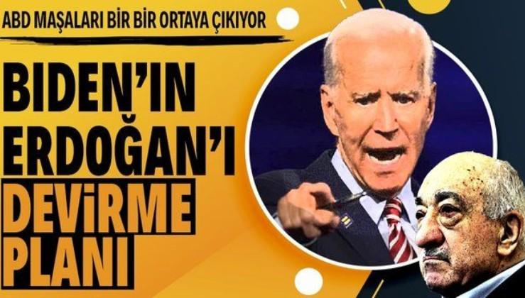 """ABD Başkanı Biden'ın """"Erdoğan'ı devirmeleri için destek vereceğiz"""" dediği unsurlar kimler?"""