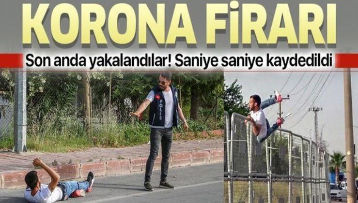 Antalya'da koronavirüs firarı! Anbean kaydedildi