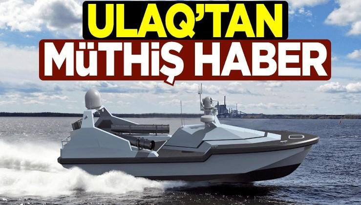 İlk insansız denizaltı savunma harbi aracı ULAQ üretime hazır