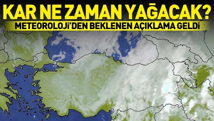 Son dakika: Meteoroloji'den sıcak hava müjdesi! İstanbul'a kar ne zaman yağacak?