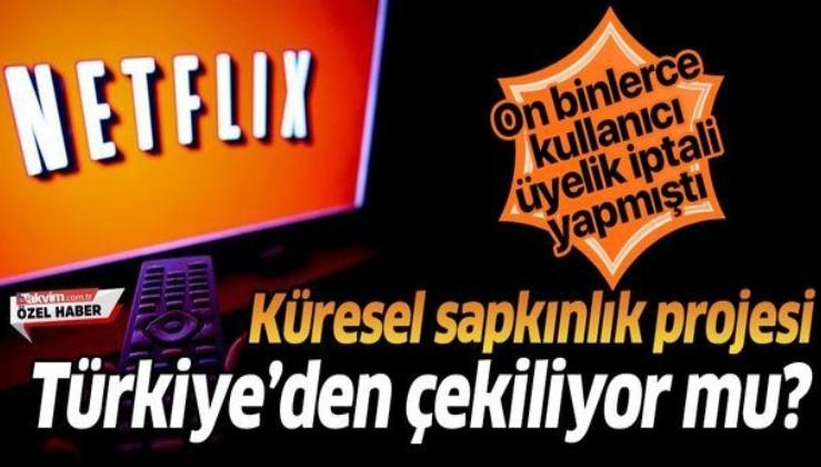 Küresel sapkınlık projesi Netflix Türkiye'den çekiliyor mu? Büyük tepki çekmişti