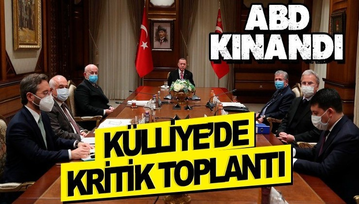 Son dakika: Cumhurbaşkanlığı Yüksek İstişare Kurulu Erdoğan liderliğinde toplandı