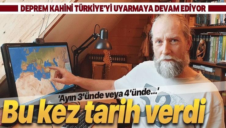 Frank Hoogerbeets'ten son dakika deprem uyarısı! Deprem kahini Türkiye için tarih verdi