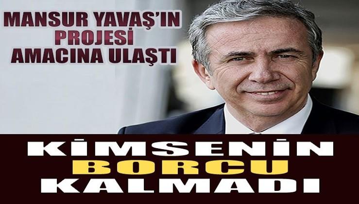 Mansur Yavaş'ın başlattığı kampanyaya büyük destek