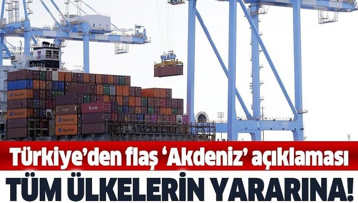 Son dakika: Ticaret Bakanı Ruhsar Pekcan: Akdeniz limanları dünya ticaretine önemli katkı sağlamakta