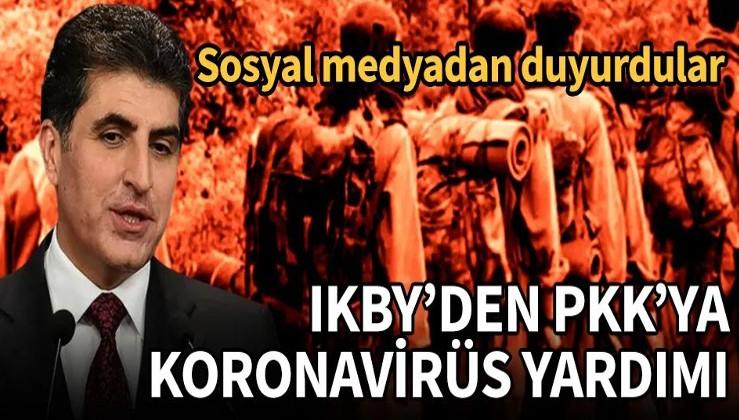 IKBY'den PKK'ya koronavirüs yardımı