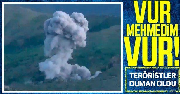 Milli Savunma Bakanlığı Pençe-Şimşek ve Pençe-Yıldırım operasyonundan yeni görüntüler paylaştı