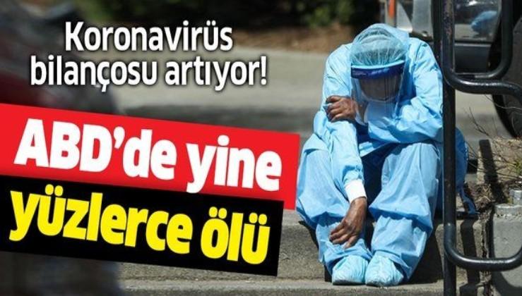 Son dakika: ABD'de koronavirüs bilançosu artıyor! Son 24 saatte...