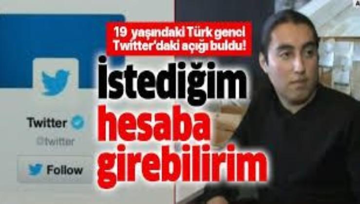 19 yaşındaki Türk genci Twitter'daki açığı buldu!