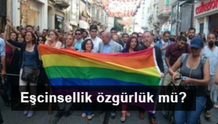 Eşcinsellik özgürlük mü