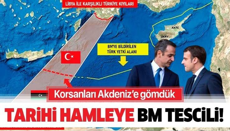Son dakika: BM Türkiye ile Libya arasında yapılan deniz sınırı anlaşmasını tescil etti!