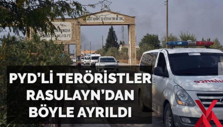 Teröristler Rasulayn'dan rahatça çıkıyor