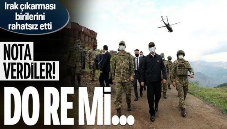 Irak, Milli Savunma Bakanı Hulusi Akar'ın Irak'ın kuzeyindeki üs bölgesine yaptığı ziyaret nedeniyle Türkiye'ye nota verdi