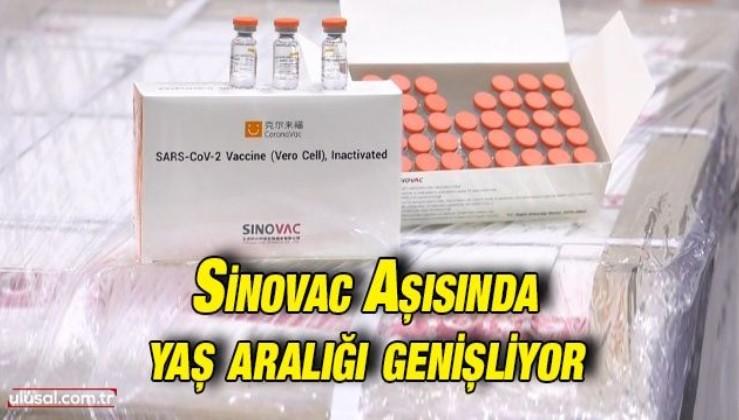 Sinovac aşısı 3-17 yaş aralığında da kullanılabilecek