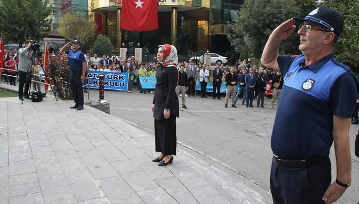 HDP'li başkanvekili İstiklal Marşı'nı okumadı