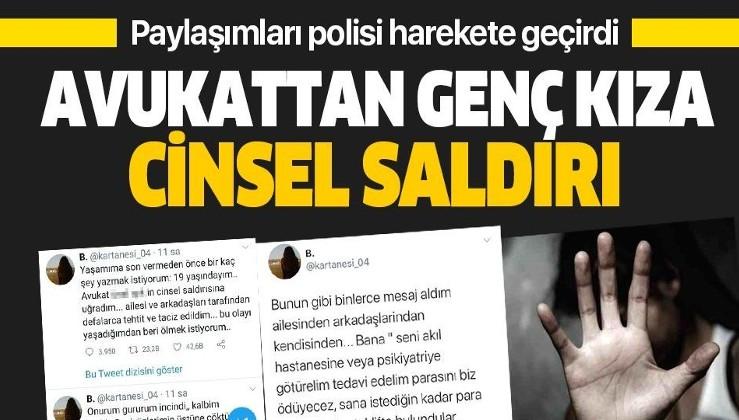 """Türkiye 19 yaşındaki 'kartanesi'ni konuşuyor: """"Avukat bana cinsel saldırıda bulundu, binlerce tehdit alıyorum"""""""