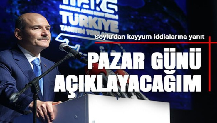 Soylu'dan 'İstanbul'a kayyum mu atanacak?' sorusuna yanıt!