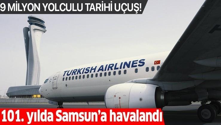 Son dakika: Türk Hava Yolları'ndan 9 milyon sembolik yolculu 19 Mayıs özel uçuş