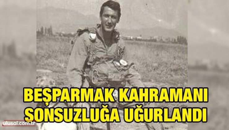 Beşparmak Kahramanı sonsuzluğa uğurlandı: Gazi Binbaşı Haluk Üstügen İstanbul Feriköy'de toprağa verildi