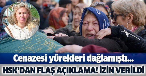 HSK'dan, Ayşe Tuğba Arslan cinayetiyle ilgili inceleme izni.