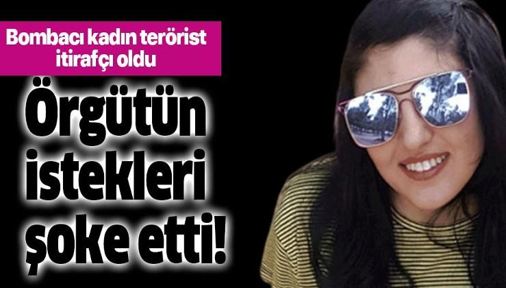 Bombacı kadın terörist itirafçı oldu: Benden mayo giymemi istediler!