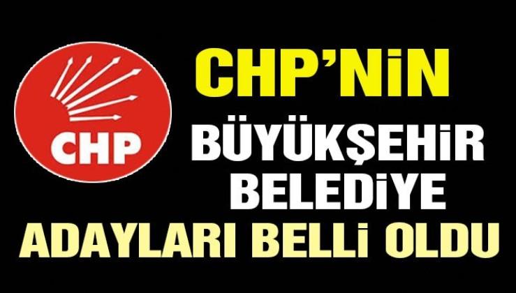 CHP'nin 102 kişilik belediye başkanı aday listesi belli oldu