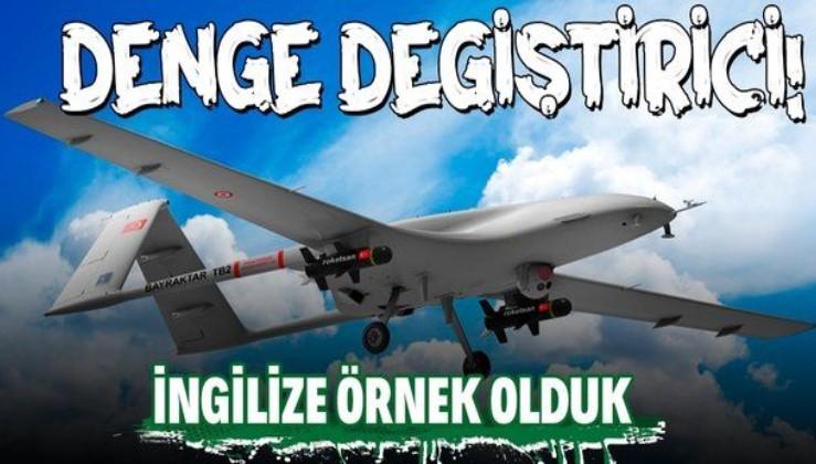 Türk SİHA'larının başarısı İngiltere'ye örnek oldu! İngilizler yeni bir SİHA programı başlatacak...