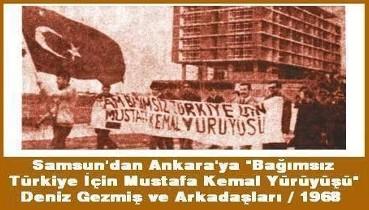 ABD emperyalizmine karşı Tam Bağımsız Türkiye için, istiklal için öldüler!