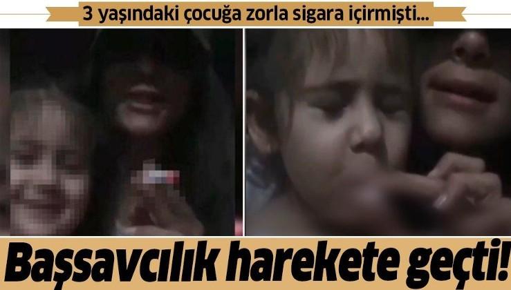 Başsavcılıktan Gaziosmanpaşa'da 3 yaşındaki çocuğa zorla sigara içirilmesi olayına ilişkin açıklama