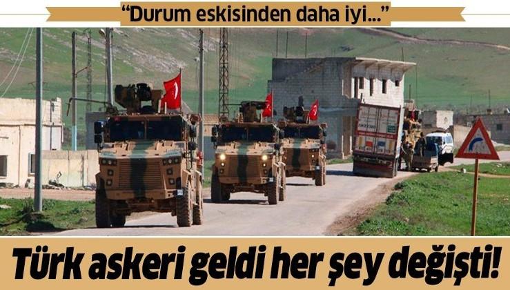 """İdlib'deki Suriyelilerden Türk askerine teşekkür! """"Durum eskisinden daha iyi..."""""""