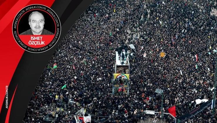İran halkı omuz omuza