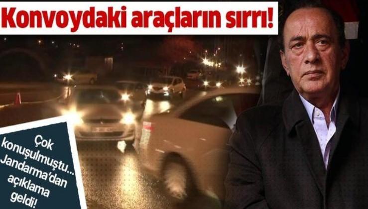 Jandarma'dan son dakika Alaaddin Çakıcı açıklaması! Konvoydaki araçlar Alaaddin Çakıcı için miydi?