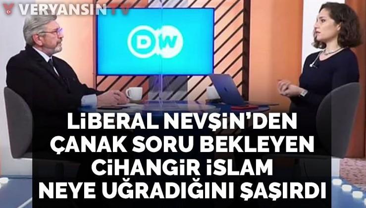 Nevşin Mengü'nün Cihangir İslam'ı kızdıran sorusu