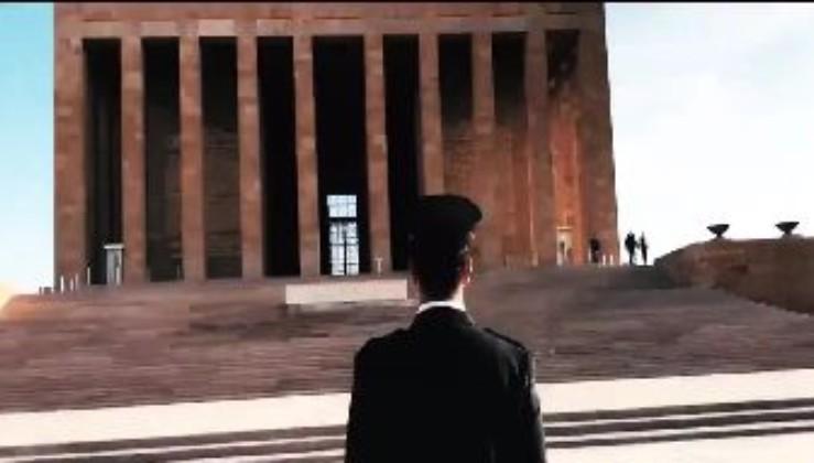 Türk Polis Teşkilatından muhteşem 10 Kasım Atatürk'ü anma videosu
