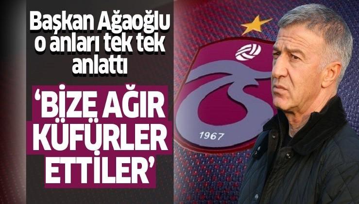 Ahmet Ağaoğlu hakem hataları ve alanya maçındaki olayları değerlendirdi: TFF içinde paralel yapı mı var!