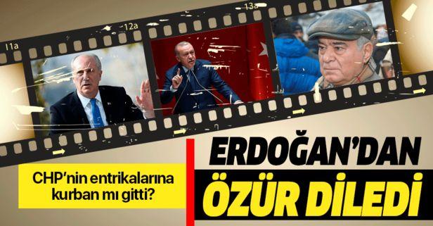 """""""Külliye'ye giden CHP'li"""" entrikasına maşa olan Rahmi Turan, özür diledi."""