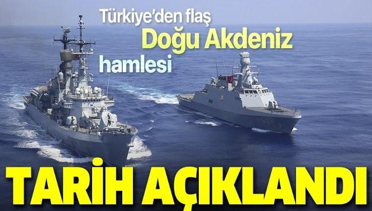 Son dakika: Türkiye'den Doğu Akdeniz'de yeni Navtex ilanı