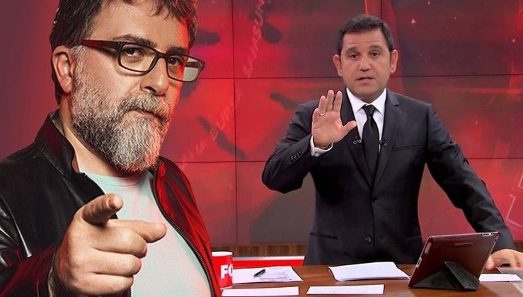 """Ahmet Hakan'dan Fatih Portakal'a tepki! """"Sen kafanı yorma hiç, bu ne telaş böyle"""""""