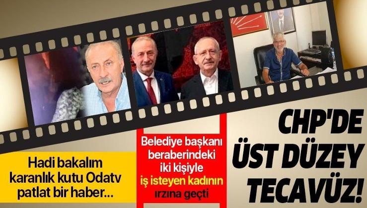 CHP'li Didim Belediye Başkanı Ahmet Deniz Atabay, beraberindeki iki kişiyle iş isteyen kadının ırzına geçti