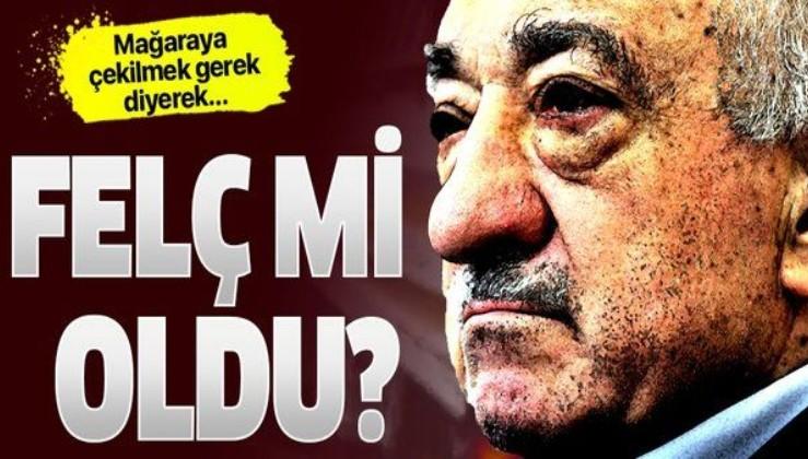 SON DAKİKA: FETÖ elebaşı Fetullah Gülen felç mi geçirdi? İşte son videosunun ardından sızan bilgiler!