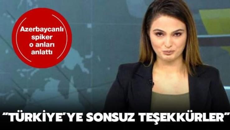 Azerbaycan Türk'ü sunucunun bu kez TRT'de gözleri doldu: 30 yıl sonra kavuştuk Türkiye'ye sonsuz teşekkürler