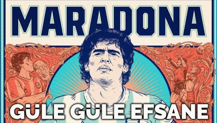 Futbol efsanesi Maradona'nın hayatından kesitler